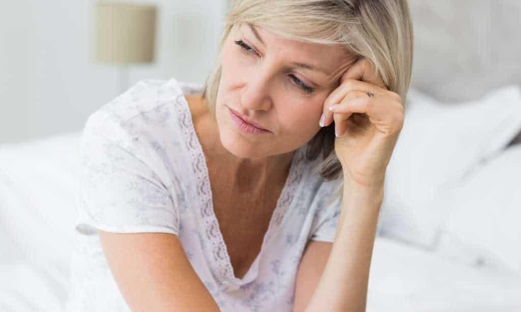 Gereizheit und Niedergeschlagenheit in den Wechseljahren